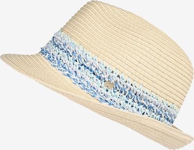 ESPRIT Chapeaux 'CrochStrpTrillb' en beige / bleu, Vue avec produit
