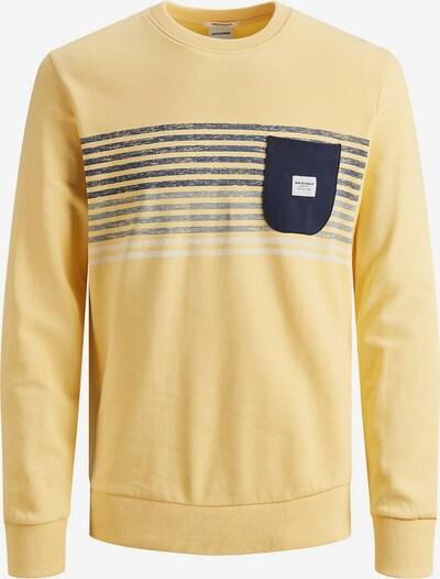 Jack & Jones Junior Sweatshirt 'JORLANGLEY' in gelb, Produktansicht