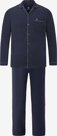Jan Vanderstorm Schlafanzug 'Turon' in nachtblau, Produktansicht
