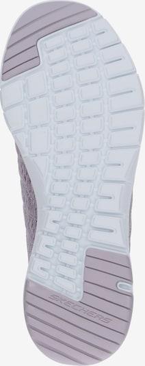 Sneaker low SKECHERS pe roze: Privire de sus