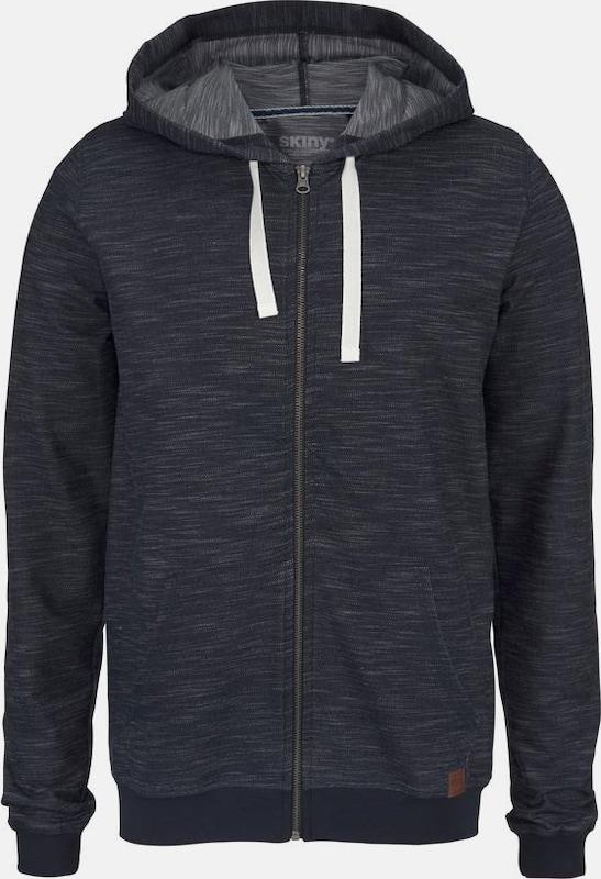 Skiny Sweatjacke Jeansblau