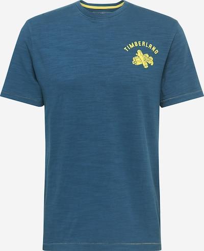 TIMBERLAND T-Shirt en bleu foncé / jaune, Vue avec produit
