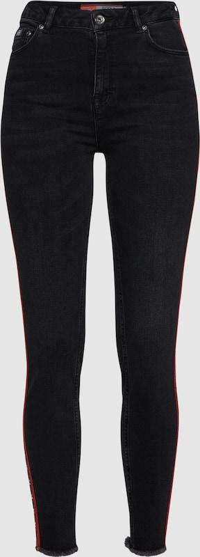 Superdry Jeans in rot   schwarz  Neuer Aktionsrabatt