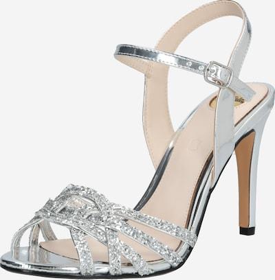 BUFFALO Páskové sandály 'AFTERGLOW' - stříbrná, Produkt