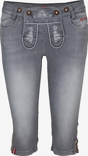 Almgwand Jeans 'Mandling 5' in grey denim, Produktansicht