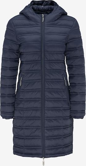 Usha Mantel in blau, Produktansicht