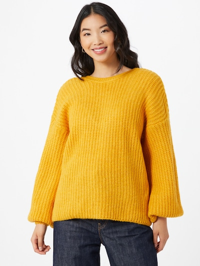 Y.A.S Pullover 'Paula' in honig, Modelansicht