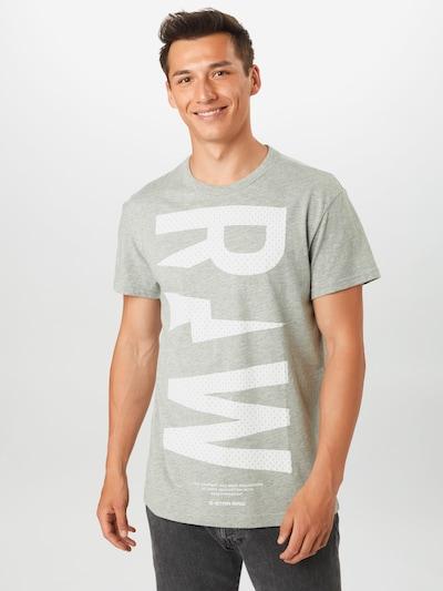 G-Star RAW Särk meleeritud hall / valge: Eestvaade