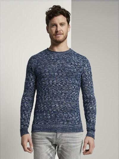TOM TAILOR Sweter w kolorze niebieskim: Widok z przodu