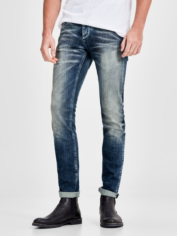 JACK & JONES Jeans 'Glenn Original 887' in blau, Modelansicht