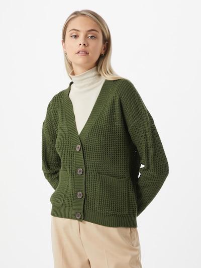 Kardiganas 'Leanna' iš VERO MODA , spalva - tamsiai žalia, Modelio vaizdas