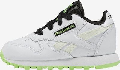 Reebok Classic Sneaker in weiß: Frontalansicht