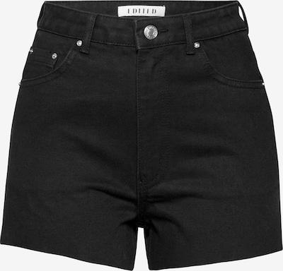 EDITED Shorts 'Jacey' in schwarz, Produktansicht
