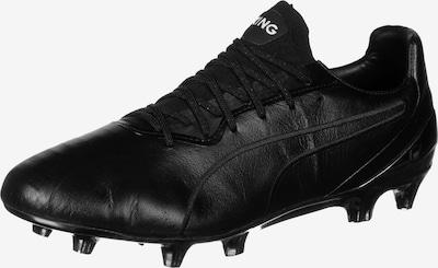 PUMA Voetbalschoen 'King Platinum MG' in de kleur Zwart, Productweergave