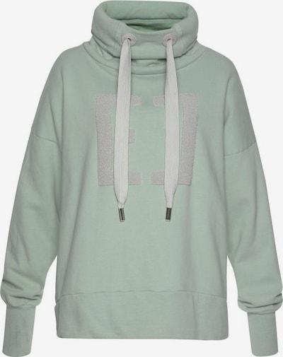 Elbsand Sweatshirt 'Arndis' in mint, Produktansicht