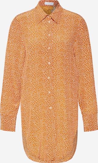 CINQUE Bluse 'CITUNA' in orange / weiß, Produktansicht