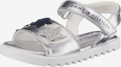 TOMMY HILFIGER Sandale in silber, Produktansicht