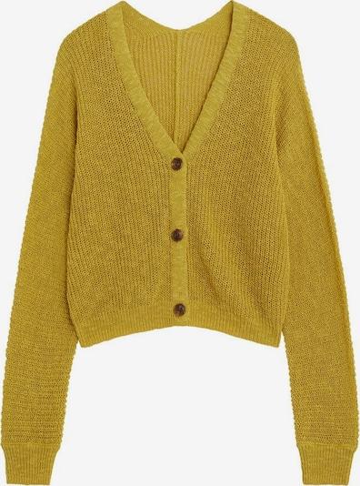 MANGO Strickjacke in gelb, Produktansicht