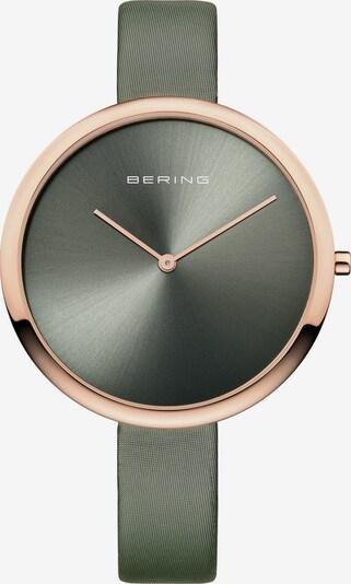 BERING Uhr in rosegold / oliv, Produktansicht