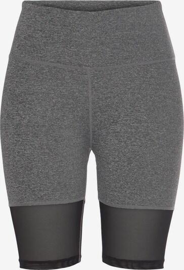 LASCANA ACTIVE Sporthose in grau / schwarz, Produktansicht