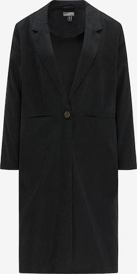 DREIMASTER Mantel in schwarz, Produktansicht