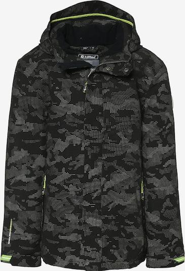 KILLTEC Outdoorjacke 'RELONO' in grau / schwarz, Produktansicht