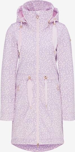 MYMO Manteau mi-saison en violet clair / rose clair, Vue avec produit
