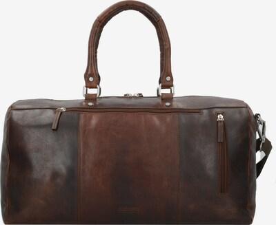 LEONHARD HEYDEN Reisetasche 'Glasgow' 51 cm in cognac / dunkelbraun, Produktansicht