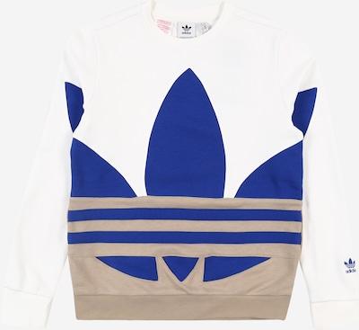 ADIDAS ORIGINALS Sweatshirt in blau / grau / weiß, Produktansicht