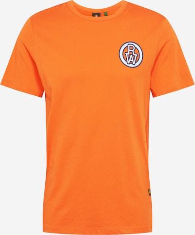 G-Star RAW Shirt in navy / orange / weiß, Produktansicht