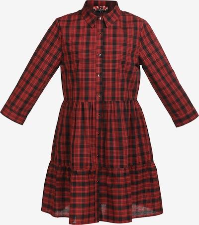 myMo ROCKS Kleid in rot / schwarz, Produktansicht