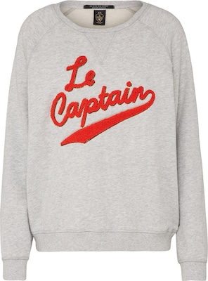 SCOTCH & SODA Sweatshirt 'Relaxed fit sweat with 'Le Captain' artwork'