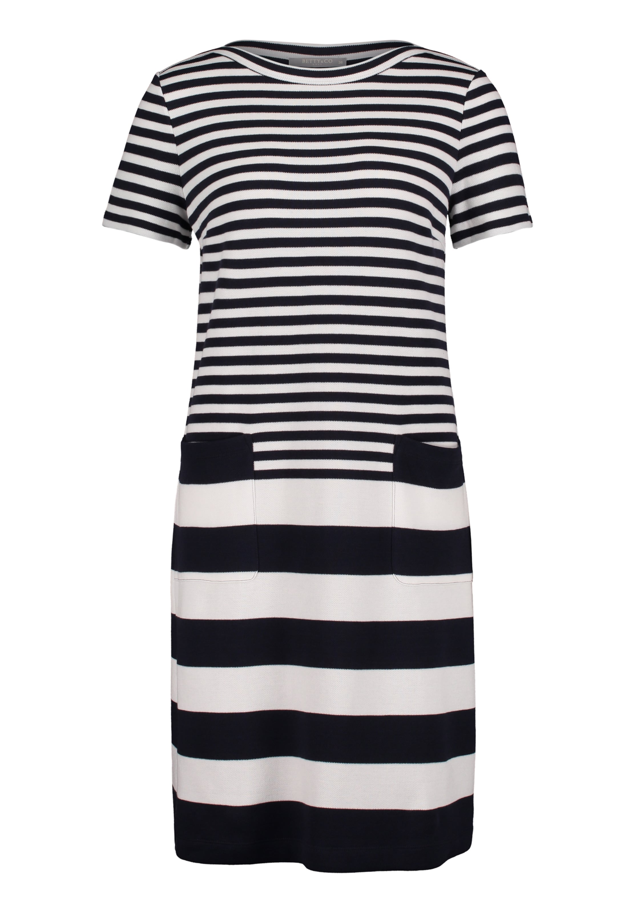 Bettyamp; Co Kleid KobaltblauWeiß In uJcTK5l3F1