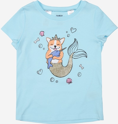 OshKosh Shirt 'Fairy Tale Turq' in blau, Produktansicht
