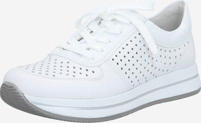 RIEKER Baskets basses en blanc: Vue de face