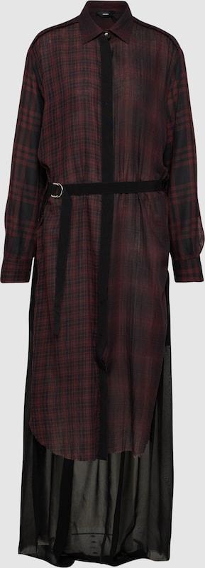 DIESEL Kleid 'D-BAGGY' in burgunder  Markenkleidung für Männer und Frauen