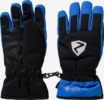 ZIENER Skihandschuhe 'Larino GTX' in blau / schwarz, Produktansicht