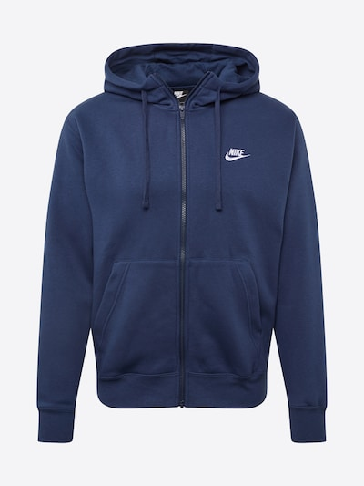 Nike Sportswear Sweatjacke in marine, Produktansicht