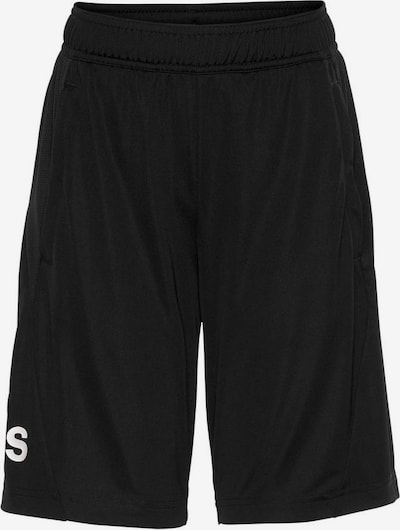 ADIDAS PERFORMANCE Trainingsshorts in schwarz: Frontalansicht