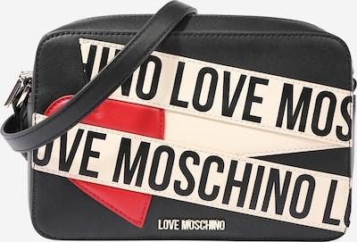 Love Moschino Taška cez rameno 'Borsa' - telová / červené / čierna melírovaná, Produkt