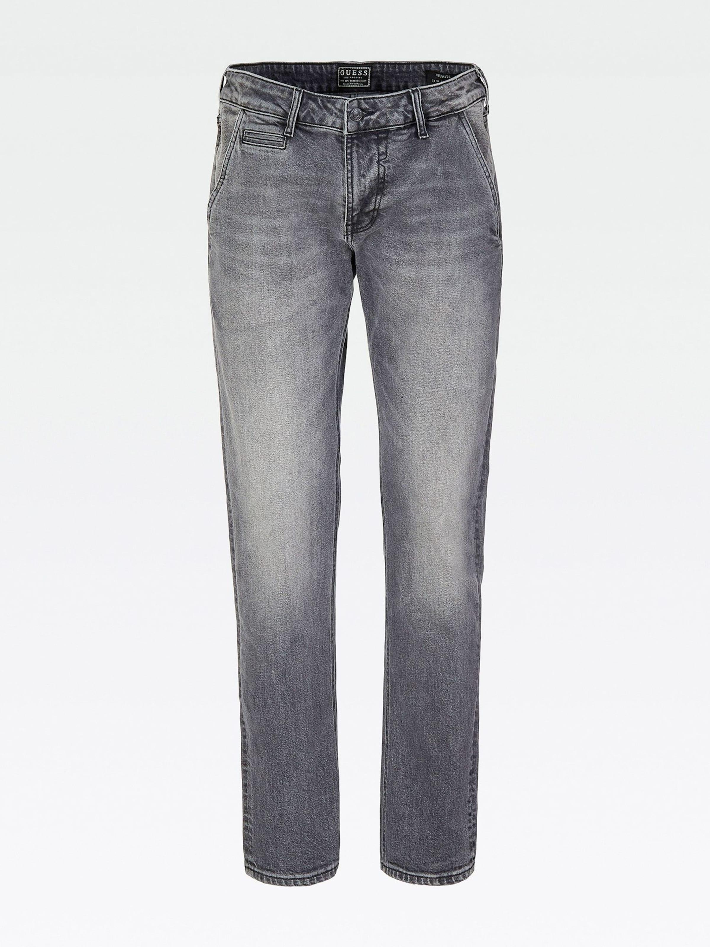 In Jeans Denim Guess Grey Guess Jeans In Guess Grey Denim TK1JlFc3