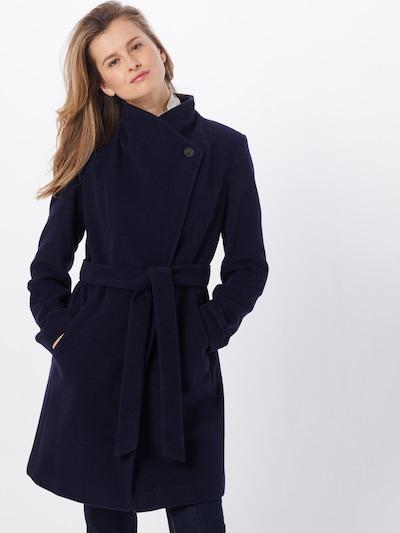 SET Mantel in blau: Frontalansicht