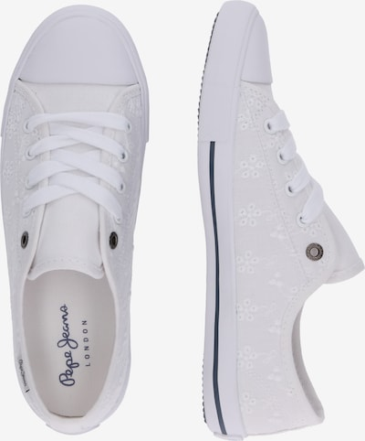 Pepe Jeans Sneaker 'GERY ANGY' in weiß: Seitenansicht
