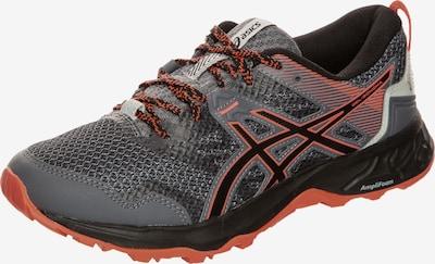 ASICS Chaussure de course 'Gel-Sonoma 5 Trail' en gris foncé / orange / noir, Vue avec produit