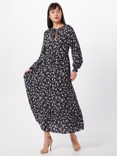 NEW LOOK Kleid 'GYPSY SMOCK' in grau / altrosa / schwarz, Modelansicht