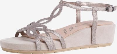 TAMARIS Sandale in rosegold / rosa, Produktansicht