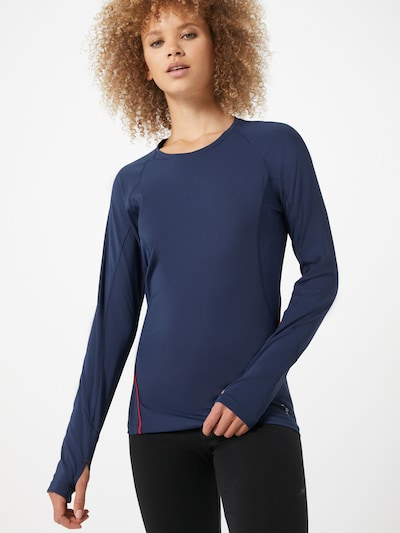 ESPRIT SPORT Functioneel shirt in de kleur Navy / Koraal: Vooraanzicht