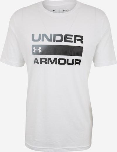 UNDER ARMOUR Shirt 'TEAM ISSUE' in weiß, Produktansicht