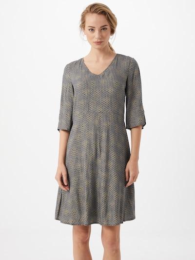 ESPRIT Kleid in navy / gelb, Modelansicht