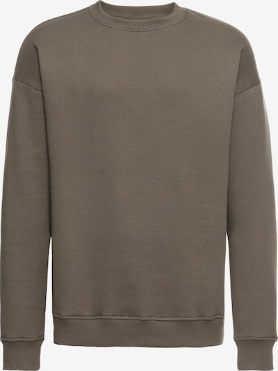 Urban Classics Sweatpullover 'Basic Crewneck' in khaki: Frontalansicht